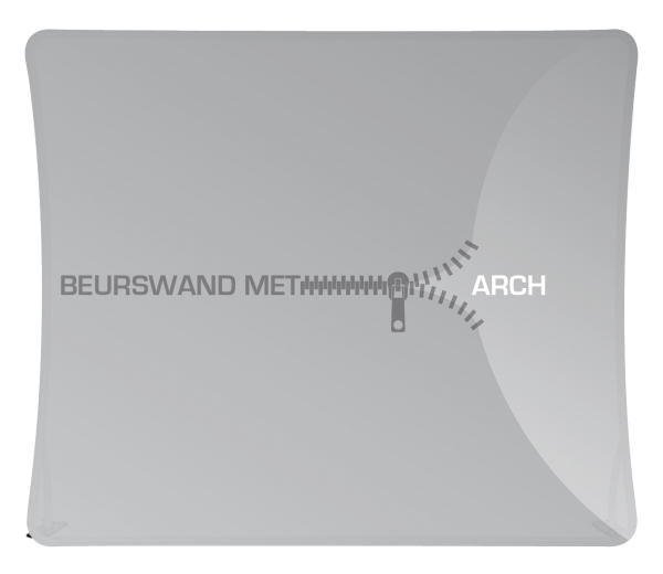 Beurswand met Rits type Arch
